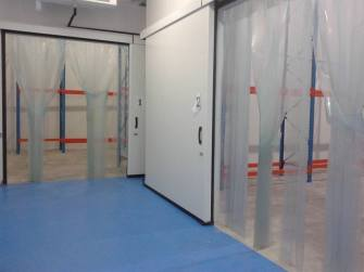 Cold storage ante room