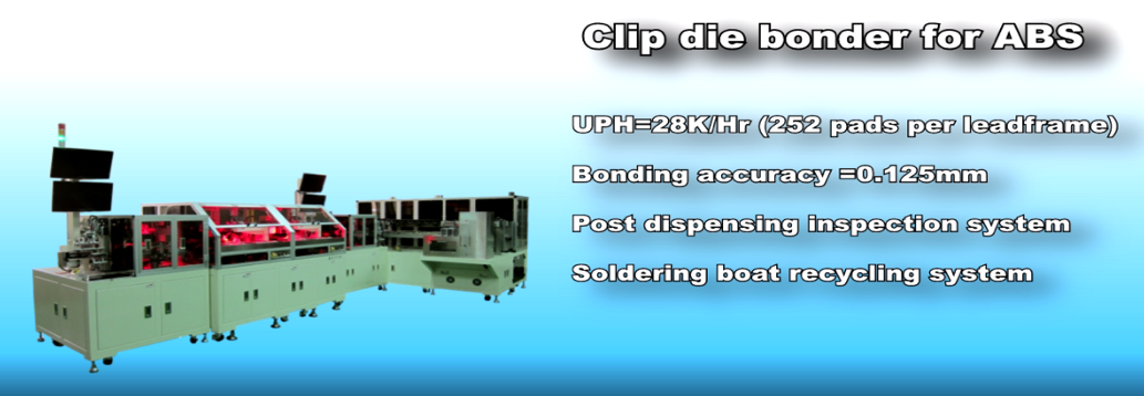 Clip Die Bonder for ABS