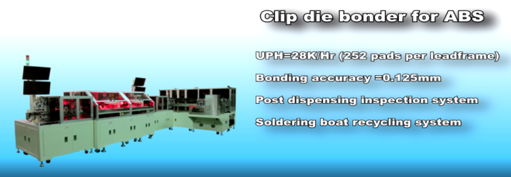 Clip Die Bonder for ABS